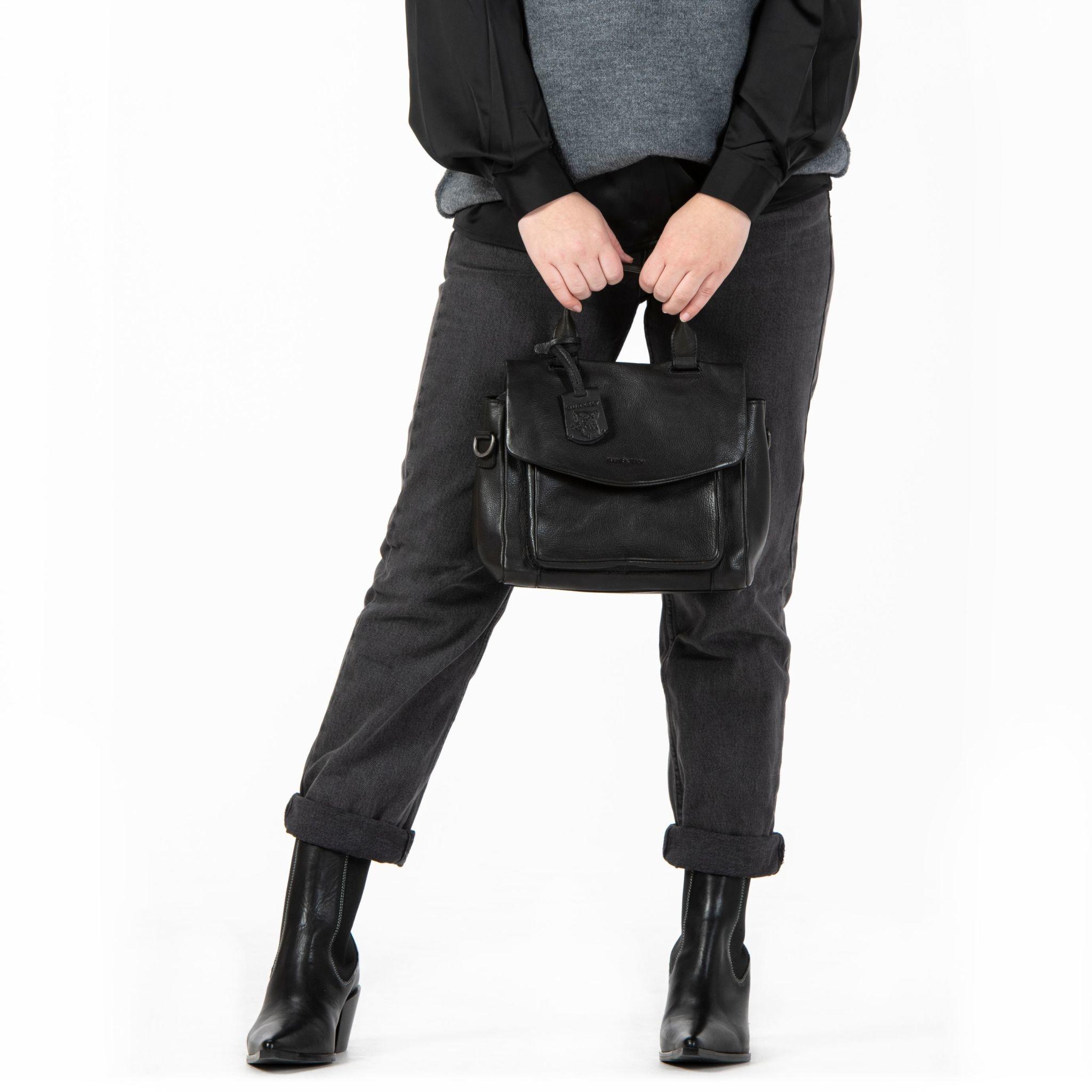 Burkely Just Jackie - Citybag - Zwart