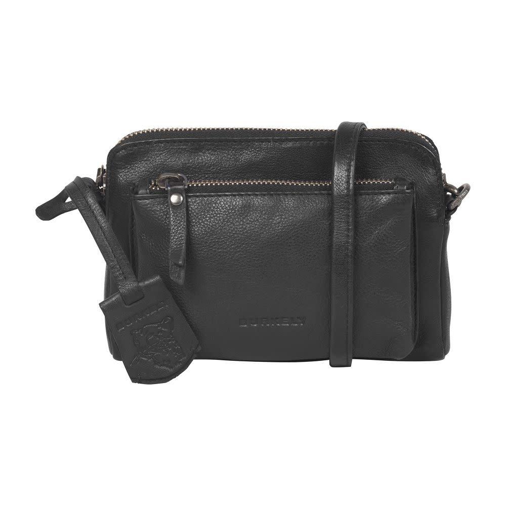 Burkely Just Jackie - Minibag - Zwart