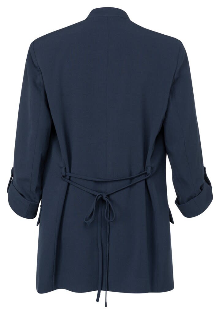 YAYA Women Blazer with 3/4 sleeves and a small belt