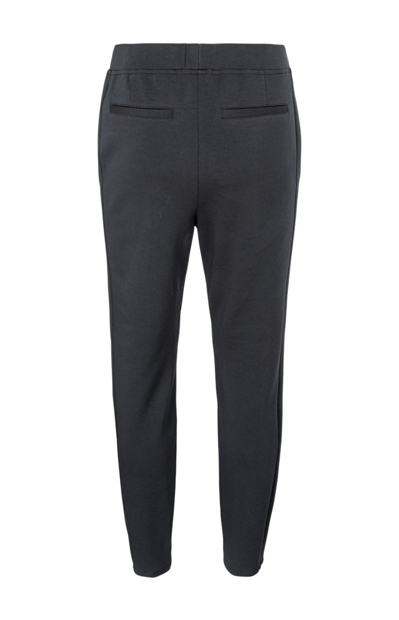 YAYA Women Jersey tailored trousers in a cotton blend fabric