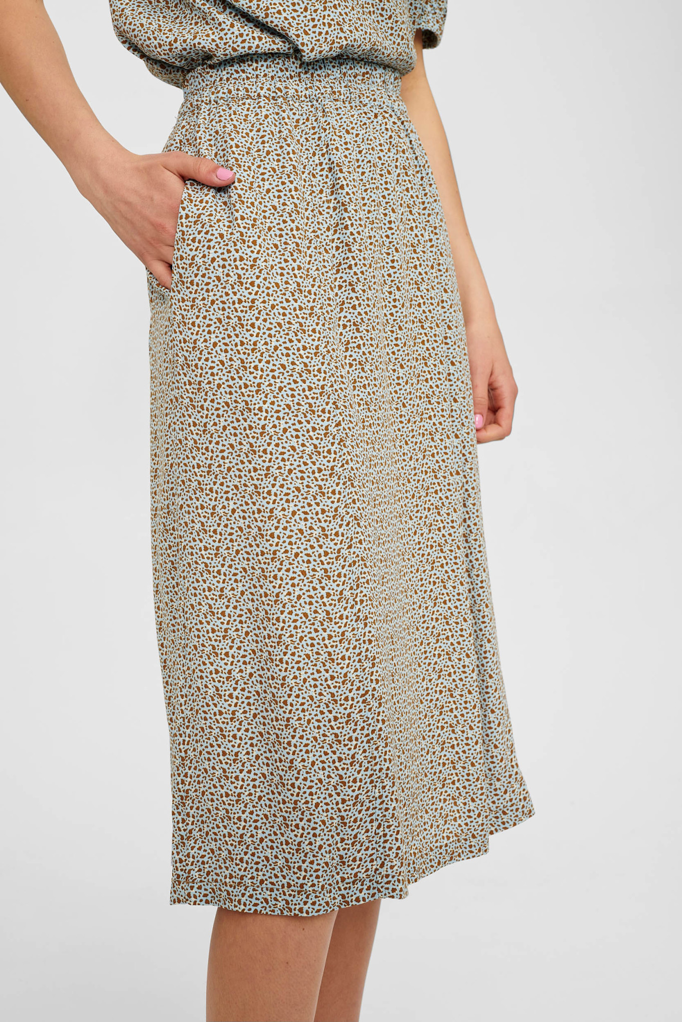 Nümph Cecelia Skirt - Blauw