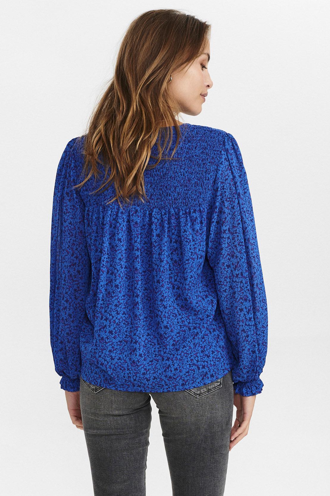 Nümph Caltum shirt - Blauw