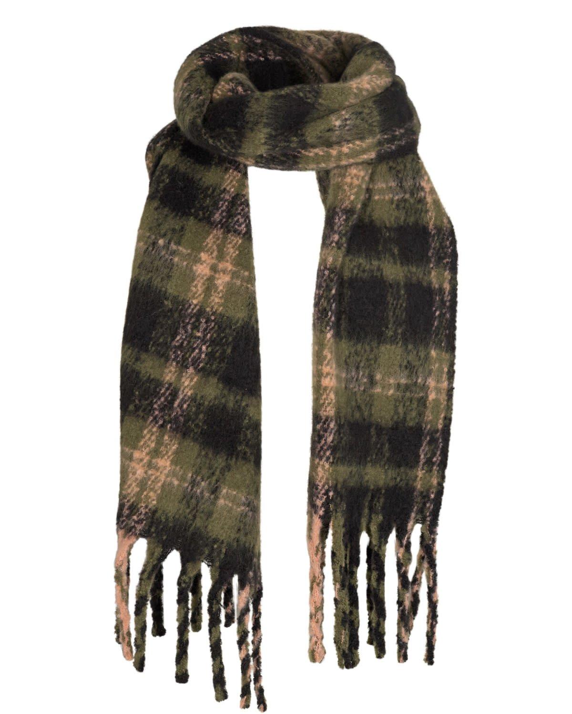 Nümph Bombay check scarf