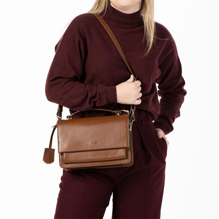 Burkely Parisian Paige - Citybag - Cognac