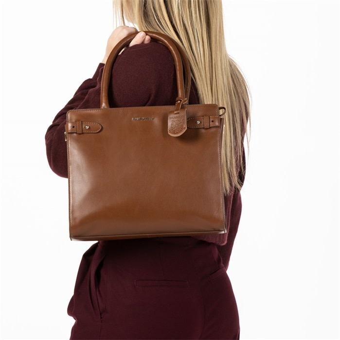 Burkely Parisian Paige - Handbag S - Cognac