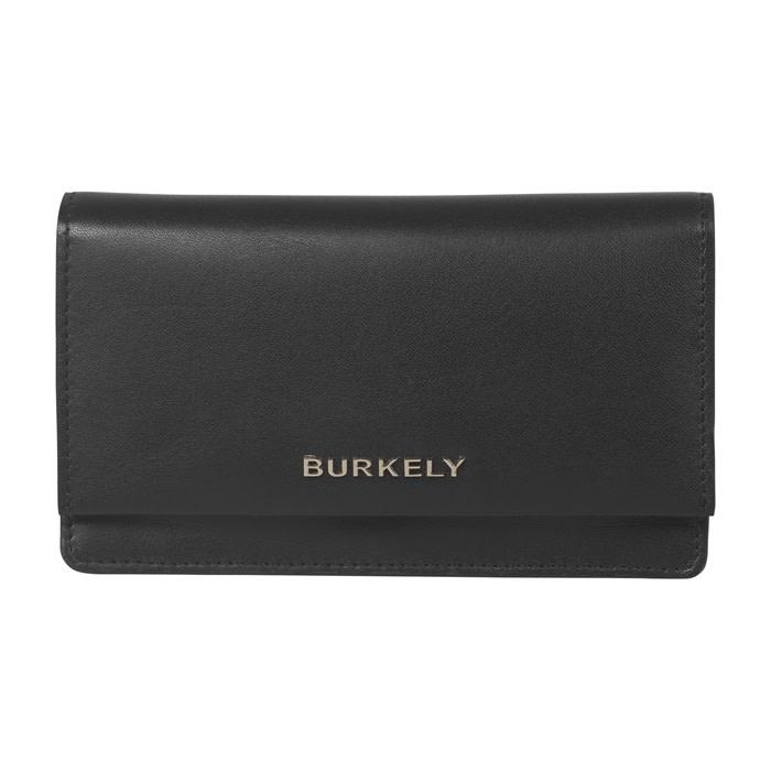 Burkely Parisian paige - Wallet L flap - Zwart