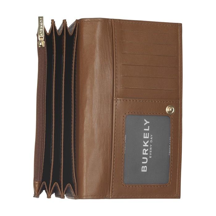 Burkely Parisian paige - Wallet L flap - Cognac