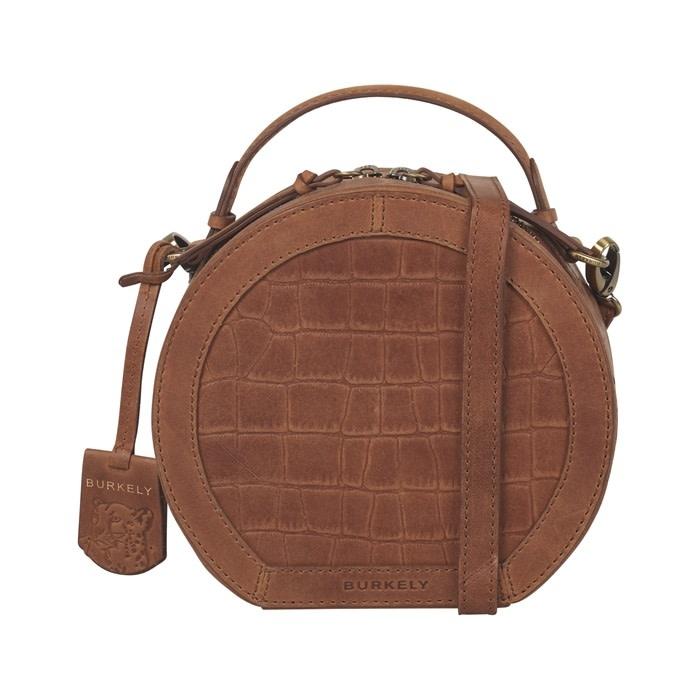 Burkely Croco Cassy - Citybag round - Cognac