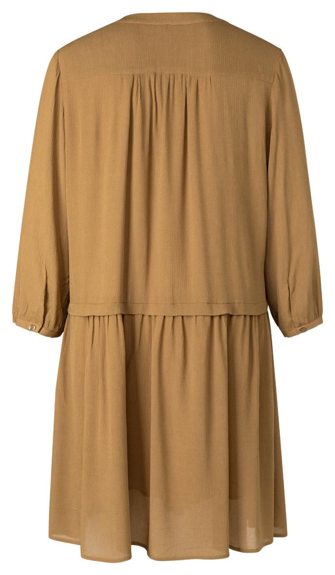 YAYA Women Long sleeve mini button up dress