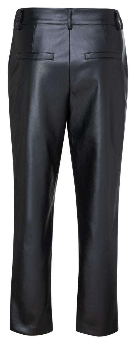 YAYA Women Faux leather chino trousers