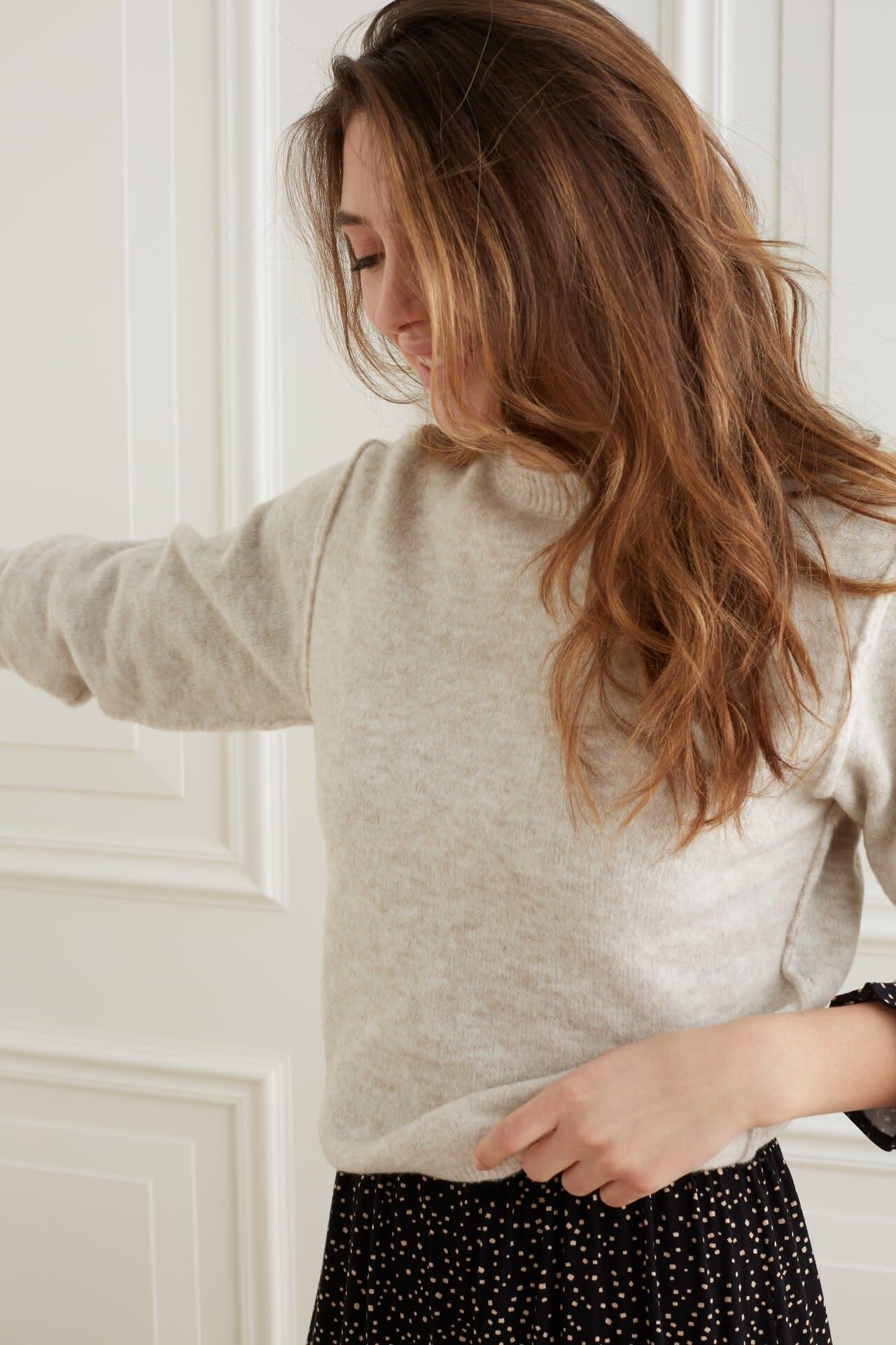 YAYA Women Boxy sweater in cosy yarn