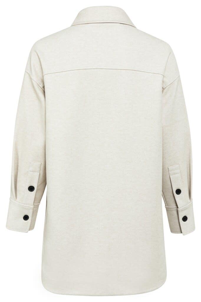 YAYA Women Oversized shirt jacket with pockets