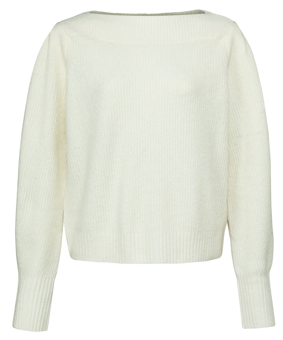 YAYA Women Sweater with boatneckline and long sleeves