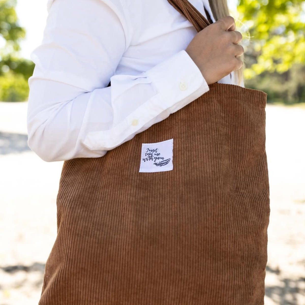 Go Daily Tote Corduroy - Bruin