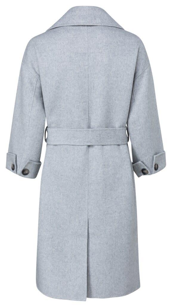 YAYA Women Long wool-mix coat