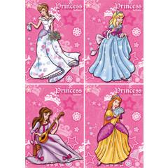 A4 Reuzewenskaarten prinsessen