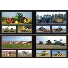 A4 Reuzewenskaarten landbouwmachines