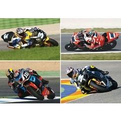 Racemotoren - Reuzewenskaart