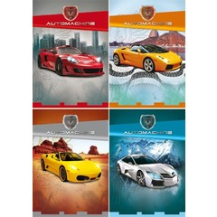 Reuzewenskaarten snelle cars