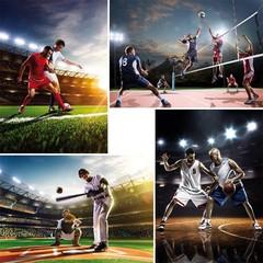 A4 Reuzewenskaarten sporten