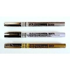 Bruynzeel-Sakura Bruynzeel pen touch fijnschrijver wit