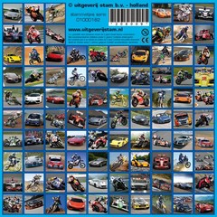 Stammetjes Auto's en Motoren - Stickervel
