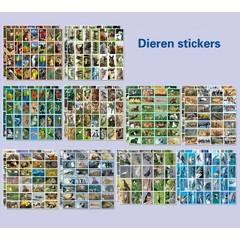 Stickerpakket met verschillende dieren
