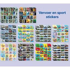 480 Vervoer- en sportstickers