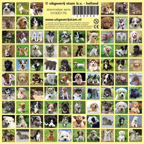 Stammetjes Stickers hondenpuppies