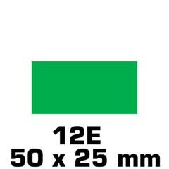 Rechthoek 50 x 25 mm in verschillende kleuren