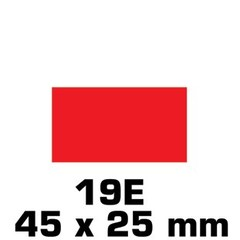 Plakfiguren rechthoek in gemengde kleuren (45x25mm)
