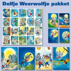 Dolfje Weerwolfje Kaarten en sticker pakket Dolfje Weerwolfje