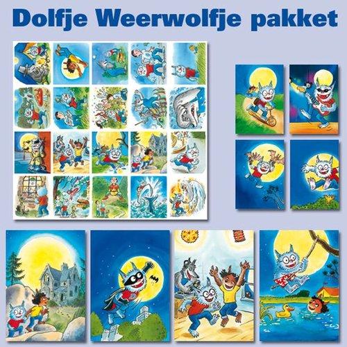 Dolfje Weerwolfje Kaarten- en sticker pakket Dolfje Weerwolfje