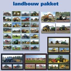 Landbouw kaarten en stickers  Pakket