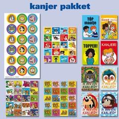 Kanjer - Kaarten- en Sticker Pakket