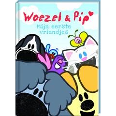 Vriendenboek Woezel & Pip met gratis stickervel