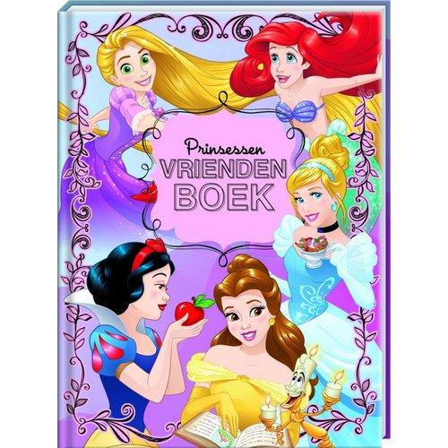 Vriendenboek Disney Prinsessen met GRATIS Stickervel