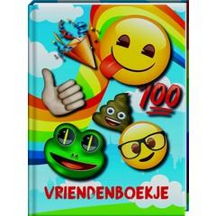 Emoji met Gratis Stickervel - Vriendenboekje