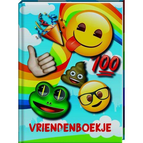 Vriendenboekje Emoji met GRATIS stickervel