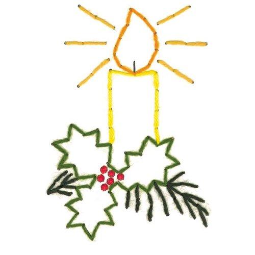 Borduurkaarten Kerst