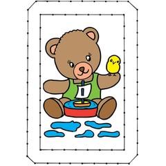 Beren - Borduurkaarten