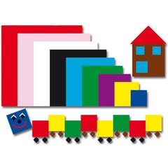 Plakfiguren vierkanten