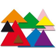 Plakfiguren driehoeken