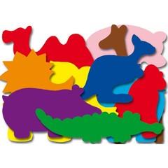 Dierentuin - Plakfiguren