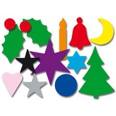 Kerst - Plakfiguren