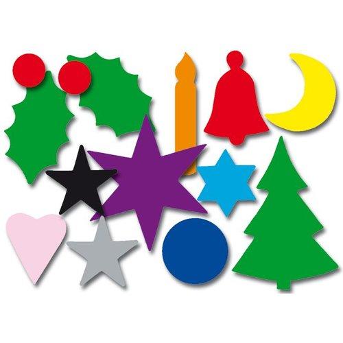 Plakfiguren Kerst