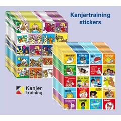 Stammetjes Kanjertraining stickers