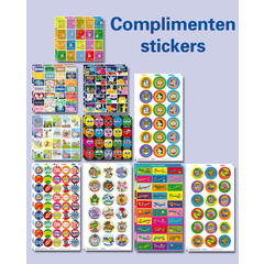 Complimenten stickers