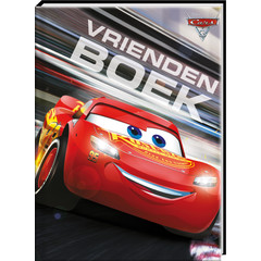 Cars met Gratis Stickervel - Vriendenboek