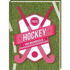 Vriendenboek 'Hockey' met stickervel